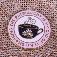 Smashing the patriarchy Lapel Pin feminist women gifts The Future is Female Brooch Enamel pin