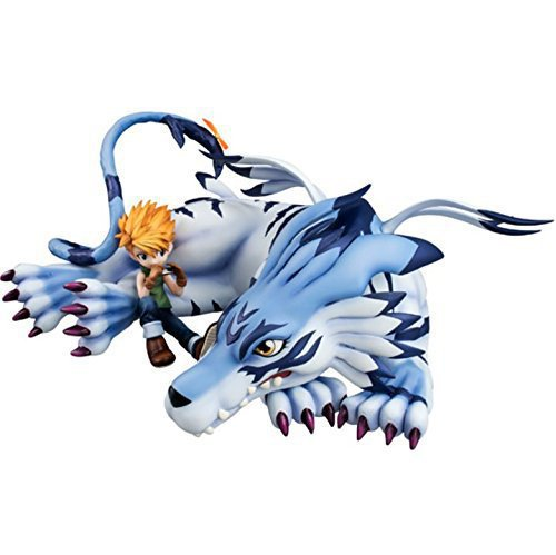 NEW hot 13cm Digital Monster Ishida Yamato Garurumon Action figure toys doll collection Christmas gift with box new hot 23cm naruto haruno sakura action figure toys collection christmas gift doll no box