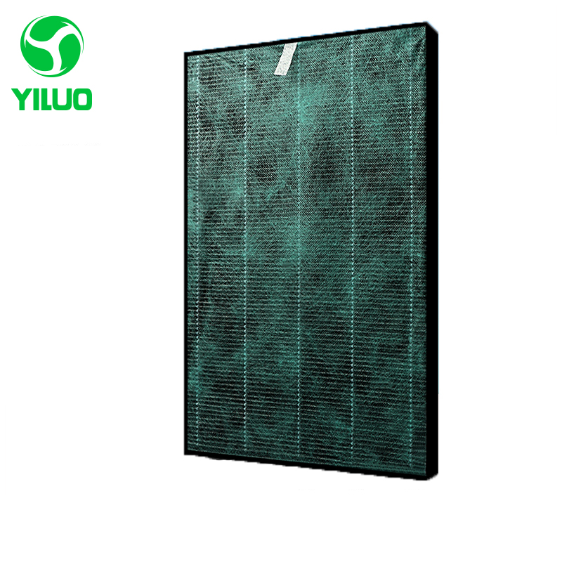 375*235*32mm hepa filter cleaner parts high efficient addition to formaldehyde composite air purifier parts KC-W200SW KC-Z200SW adaptation for philips ac4026 air purifier in addition to formaldehyde composite filter 4127 air purifier parts