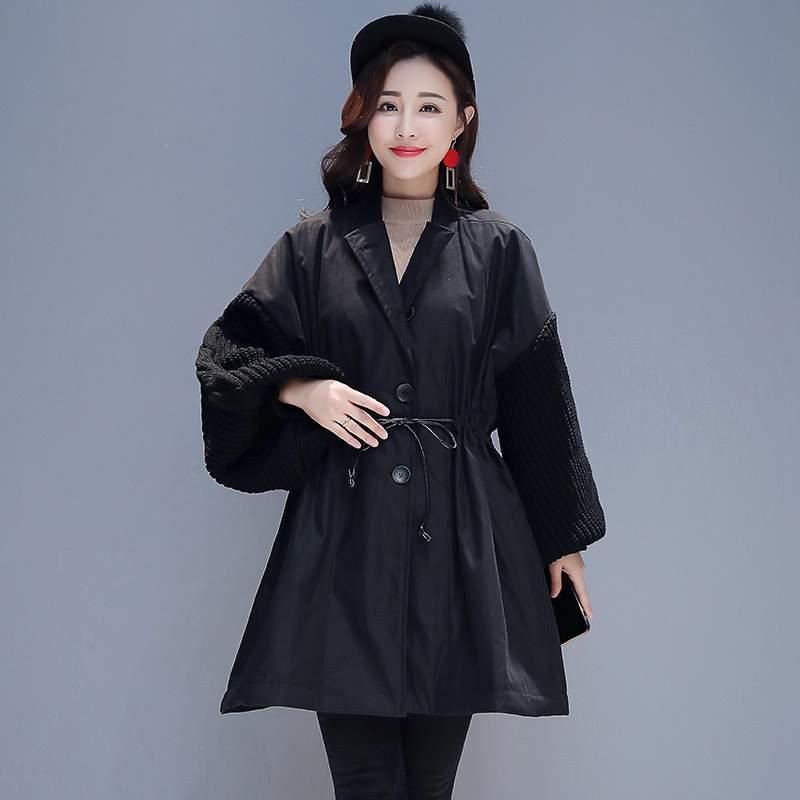 Femmes Moyen Manteau Le Casual Survêtement Mode Chaud Slim Parkas Black Veste Dames Tempérament Longues 2019 Hiver Vers Bas Nouveau Ly371 564n8A8