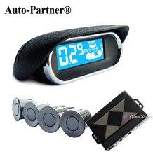 Датчик парковки 4 Всепогодный Заднего вида Обратный Резервный Системы Радар Комплект Электроники Аксессуары + ЖК-Дисплей Монитор Для BMW