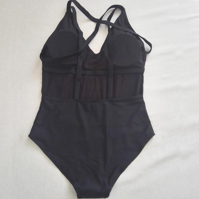 Sexy One Piece Swim Suit 16 New Style Beachwear Swimwear Cut Out Monokini Bandage Sexy One Piece Swimsuit Black bathing suit 6
