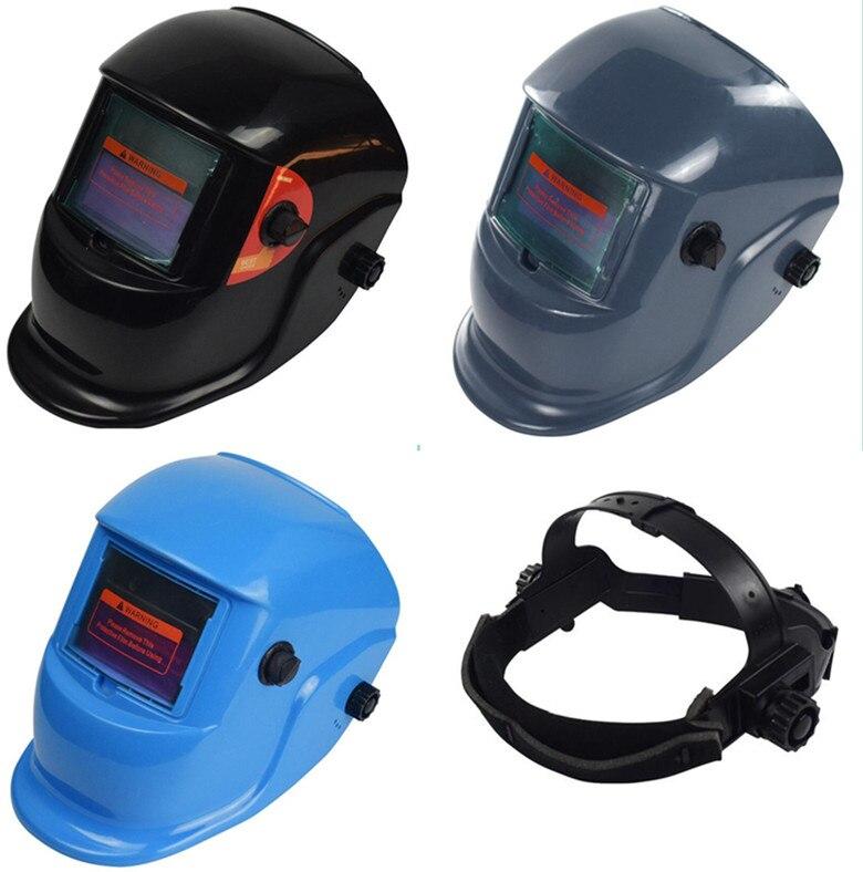 47fe59375aab0 Solar Auto Escurecimento MIG MMA Máscara de Solda Elétrica Lente Capacete  de Soldagem para Máquina De Solda ou Corte Plasma