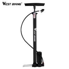 WEST BIKING 150PSI Bicycle Pump Steel Body MTB Road Bike High Pressure Tire Inflators Cycling Accessories