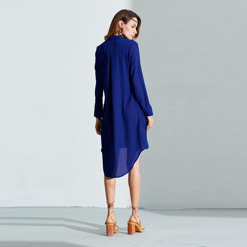 HTB1.7gcPVXXXXcLXXXXq6xXFXXXu - Women Shirt Vestido Bow Long Sleeve Casual Amsymetircal Chiffon