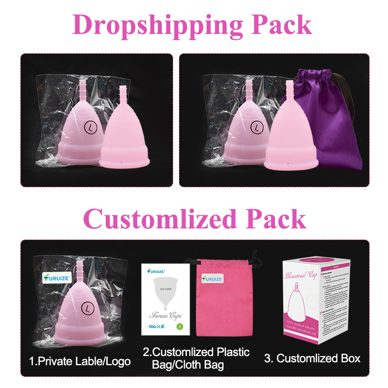 Hot Sale Menstrual cup for Women Feminine hygiene Medical 100% silicone Cup Menstrual reusable lady cup copa menstrual than pads 5