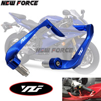 Universal 7/8 22mm Motorcycle Handlebar Brake Clutch Levers Protector Guard For Yamaha YZF R6 YZFR6 1999 2004
