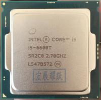 Процессор Intel Celeron I5 6600 т I3 6600T LGA1151 14нанометров Quad Core 100% работает должным образом настольный процессор