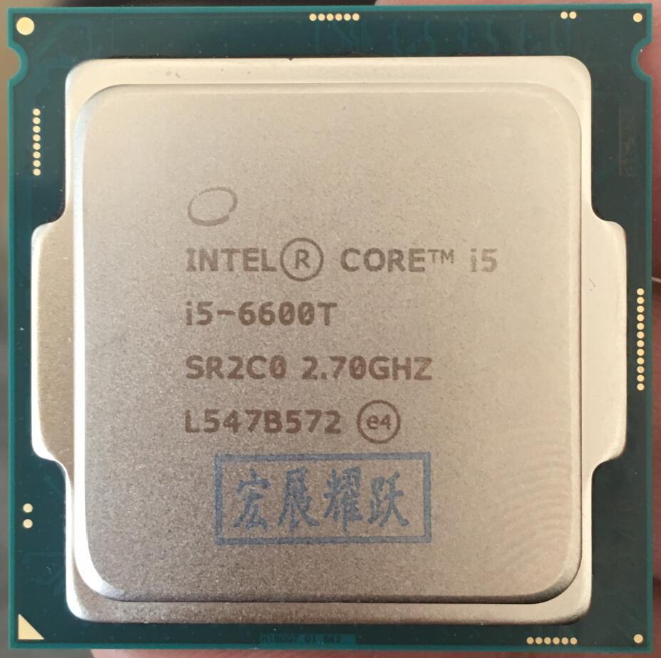Intel Celeron Processeur I5 6600 t I3-6600T LGA1151 14 nanomètres Quad-Core 100% fonctionne correctement De Bureau Processeur