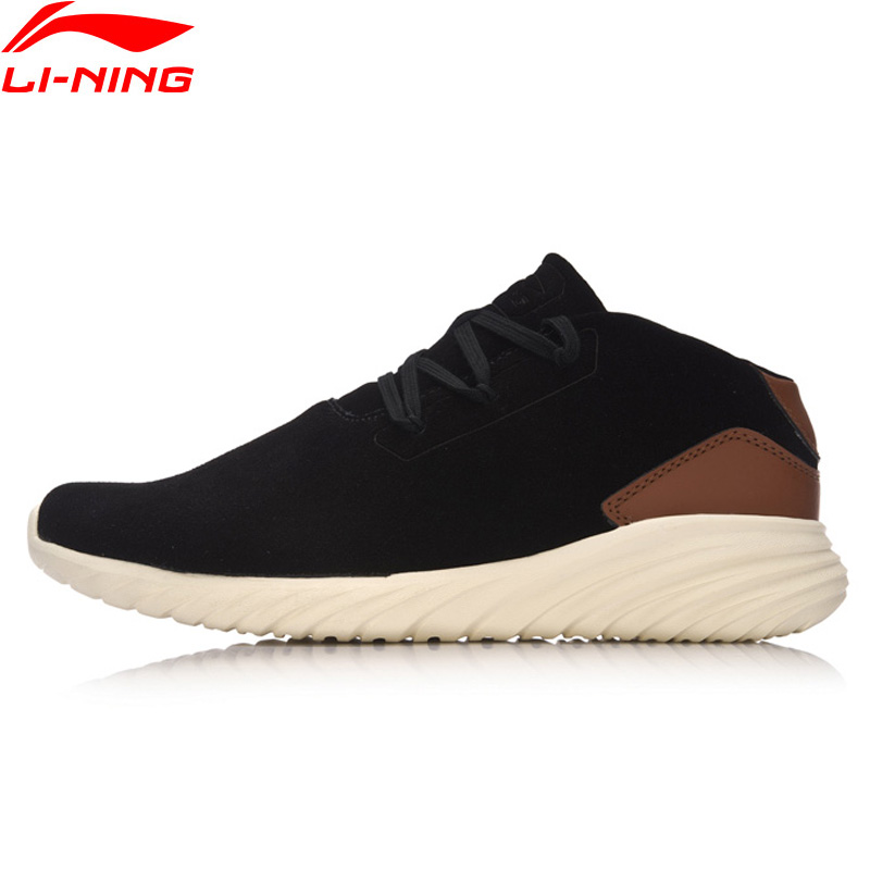 Li-Ning Men LN Zen Classic Walking Shoes Breathable Comfort Sport Shoes Li Ning Sports Shoes Sneakers AGCM051 li ning outdoor sports life series wear resisting breathable young steady sport shoes sneakers walking shoes men alck021 xmr1052