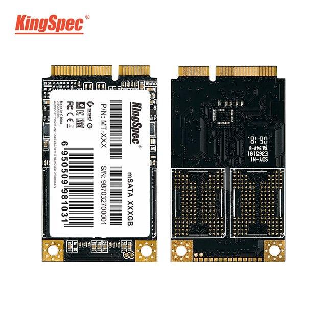 KingSpec mSATA SSD המקורי 64 GB 120 GB 240 GB SSD 1 TB HDD SATA3 הפנימי כונן דיסק SSD MSATA3.0 עבור Dell נייד