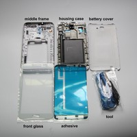 N7000 Parts Refurbish For Samsung Galaxy Note Note1 N7000 Full Housing Cover Frame Door Case Front