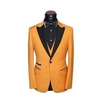 Брендовые винтажные классический мужской костюм свадебные деловые узкие вечерние жениха жаккардовая ткань для мужчин костюмы платье 3 пре