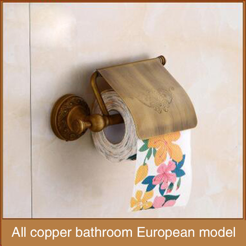 Paper rack, the factory sells all kinds of copper, antique European style new, high-end antique paper towel rack, high quality t high quality aimb 769vg 00a1e aimb 769 selling all kinds of boards