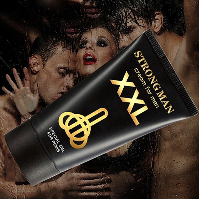 New Strong Man Titanium Gel Xxl Cream Penis Enlargement Cream Increase Growth Dick Size Titan Extender Sexual Products Sex Pills