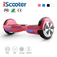 iScooter Electric Skateboard Hoverboard Self Balancing Scooter two 6.5 inch Wheel 6.5'' hover board Free shipping