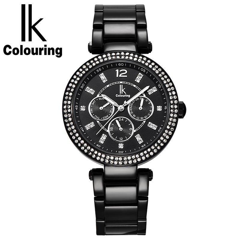 цена на IK Acacia fashion strip ladies quartz watch thirty meters waterproof fashion diamond drill female watch
