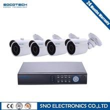 Sistema de CCTV 8CH SOCOTECH 1080N CCTV DVR 4 UNIDS Completa 1080 P 2.0MP IR Seguridad Impermeable Al Aire Libre Cámara de Vídeo Doméstico kit de vigilancia