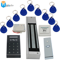 K3 rfid Card Reader+ RFID Keychain card+ exit button+280KGs Electric Lock+Power supply DIY KIT Access Control Door system Winte