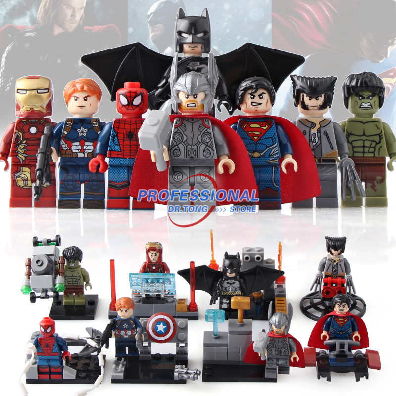 DR.TONG 80PCS/LOT SY656 Super Heroes Batman Movie Bricks Action Figures Building Blocks TOYS Child Gift