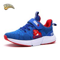 Dinoskulls Children Sneakers Teenager Outdoor Sport Sneakers Shoes Kid Boys Shoes Breathable Running Shoes Size 31 37