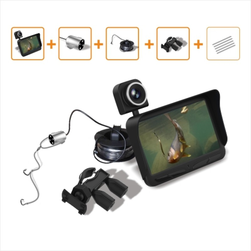 Underwater Video Camera System with 4.3