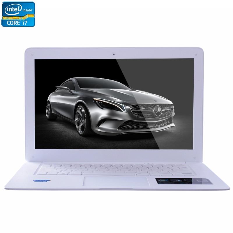 2017 Intel Core i7 CPU 14inch 8GB RAM+64GB SSD+1TB HDD 1920X1080P FHD Resolution Windows 7/10 System Laptop Notebook Computer bben intel core i7 7700hq cpu 17 3inch ram 32g 128g ssd 500g hdd fhd 1920x1080p rgb backlit gtx1060 windows10 laptop notebook