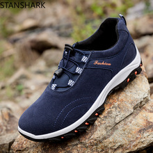цена на New Men's Casual Shoes Outdoor Walking Sneakers Non-slip Wear-resistant Work Shoes Zapatos Hombre Sapatos Male Travel Shoes