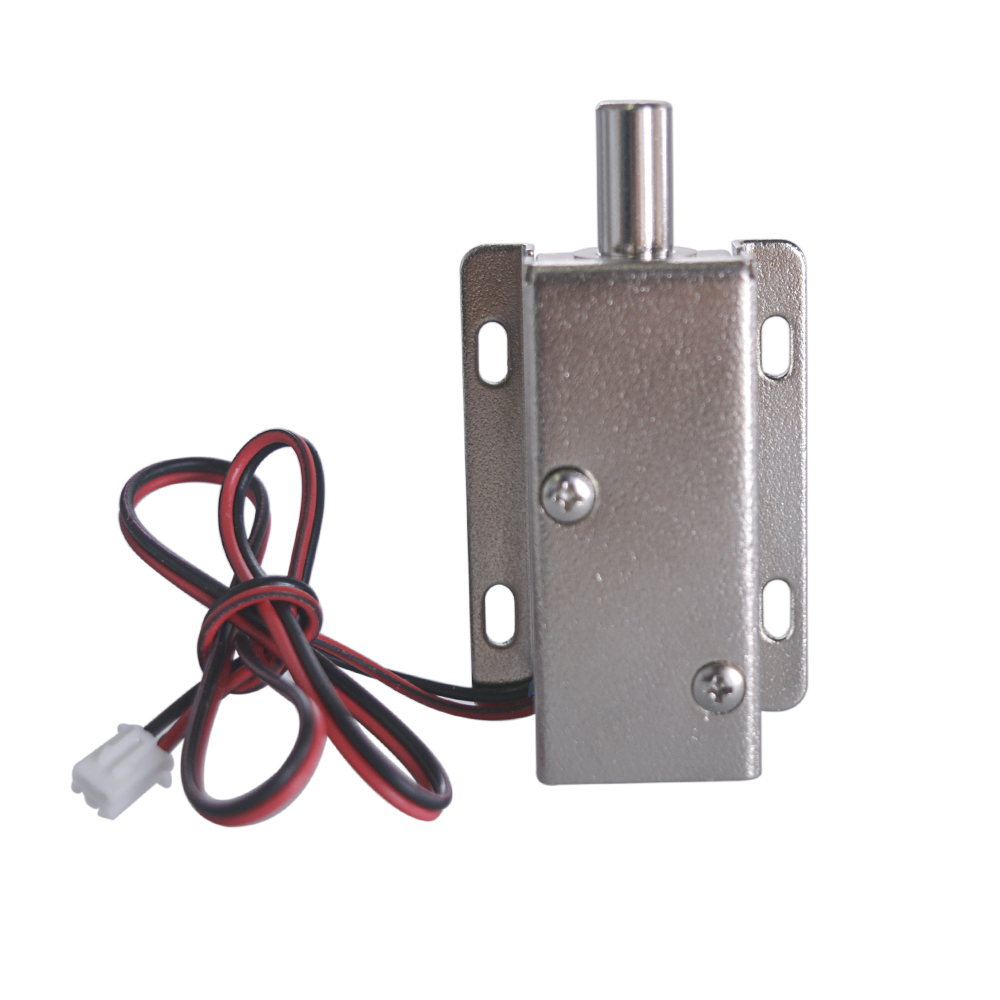 цена на DC 24V Energy Saving Electric Lock Assembly Solenoid 28.8W Open Frame Type Solenoid for Cabinet Door Lock