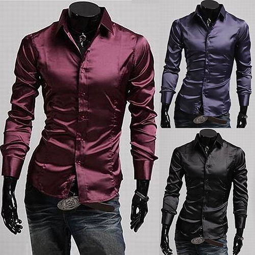 Mens Long Sleeve Button Down Casual Shirts | Artee Shirt