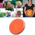 30g Orange Face Paint Body Painting Safety Drawing Pigment Water-based Face Makeup Cream Paste Party Pumpkin Halloween maquiagem
