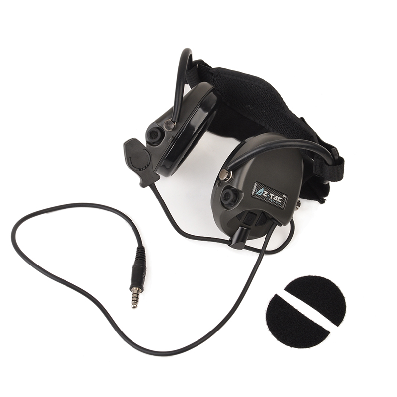 Tactical Softair Pilot Headset Comtac TCI Liberator II Neckband Sordin Thoradin Pickup Noise Canceling Hunting Headphones Z039Tactical Softair Pilot Headset Comtac TCI Liberator II Neckband Sordin Thoradin Pickup Noise Canceling Hunting Headphones Z039
