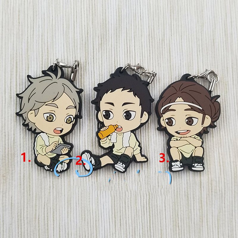 haikyuu Keychain Key Ring Cosplay 5pcs//set randomly send Anime Haikyuu!