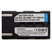 1000mAh LSM 80 SB LSM80 LSM80 batteria Rechageable Batteria Della Macchina Fotografica Per SAMSUNG VP DC175 VP DC565 VP DC575 SC D357 Commercio Allingrosso