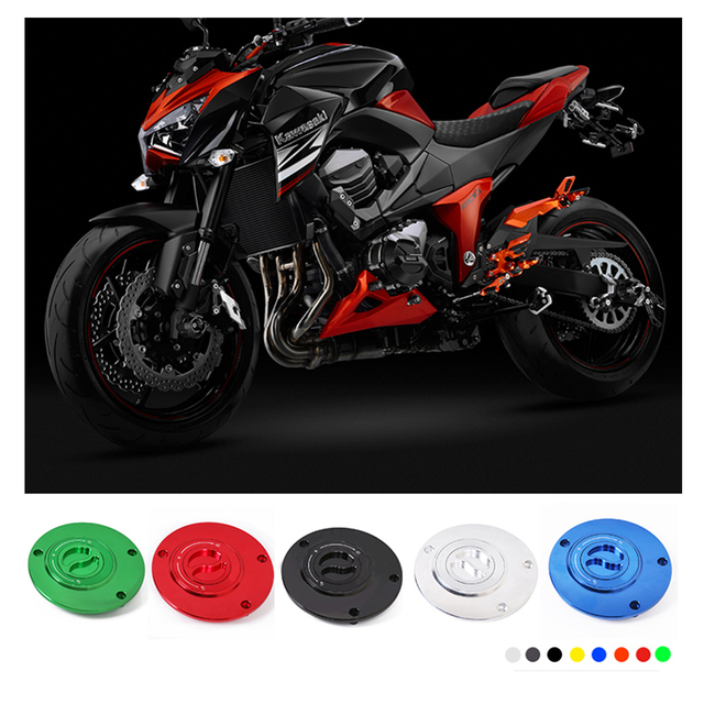 SMOK Motorcycle Universal Accessories Fuel Gas Tank Cap Cover For Kawasaki Z750 Z1000 ER6N ER6F Suzuki