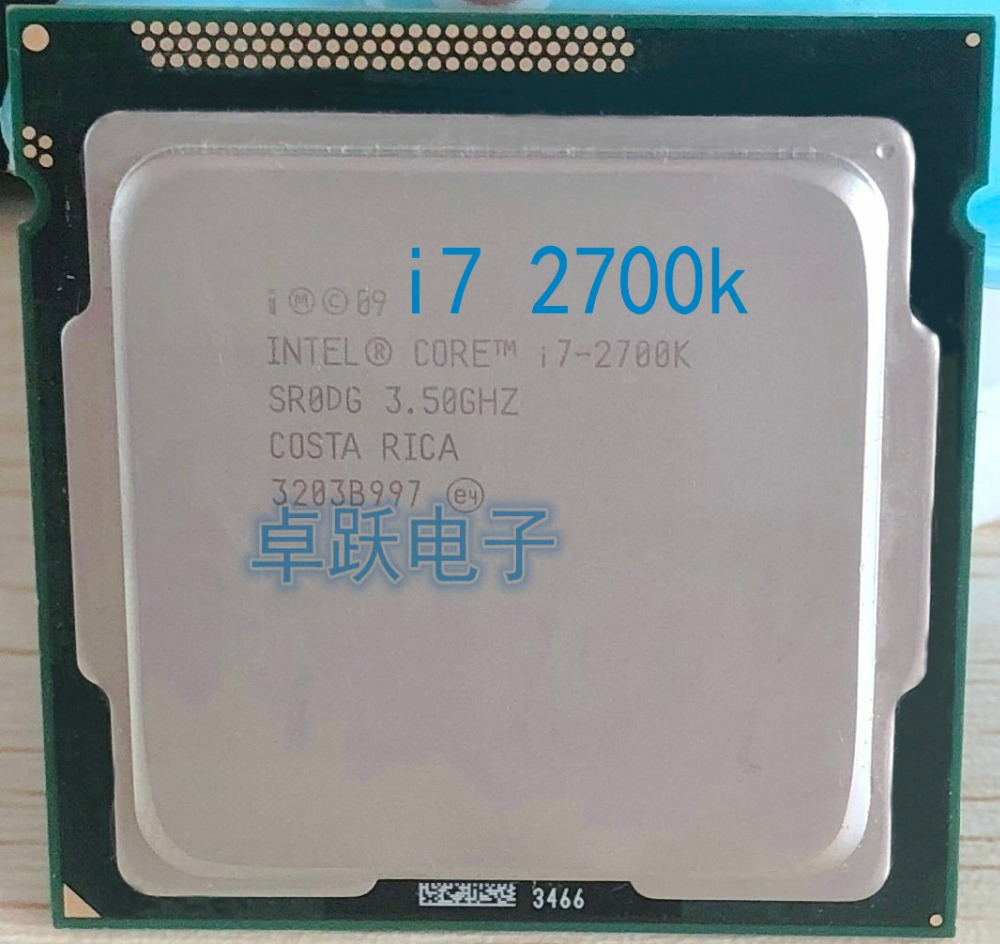 Intel Core i7-2700K 3.5GHz LGA 1155 SR0DG 4-Core 8M Cache CPU Processor