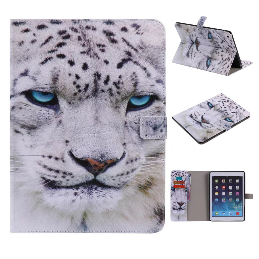 For Case iPad Air iPad 5 Fashion Style Flip Smart PU Leather Stand TPU Tablet Case Cover for iPad Air with Sleep Wake up Funtion ultra thin for ipad air 2 case pu leather smart stand cover universal auto sleep wake up flip 9 7inch case for ipad air 1 2