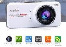 Original Anytek AT66A Full HD Car DVR Novatek 96650 Car Camera DVR Recorder 170 Degree 6G Lens Night Model DVR Dashcam Dash Cam