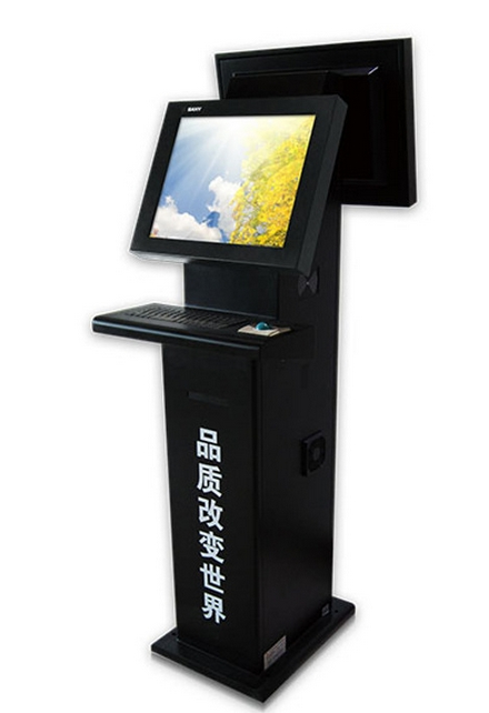 17,19,22inches Kiosk Self Service Kiosk Self Service Terminal With Rf Dual Lcd Touch