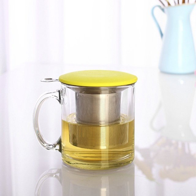 Two Handle Tea Strainer