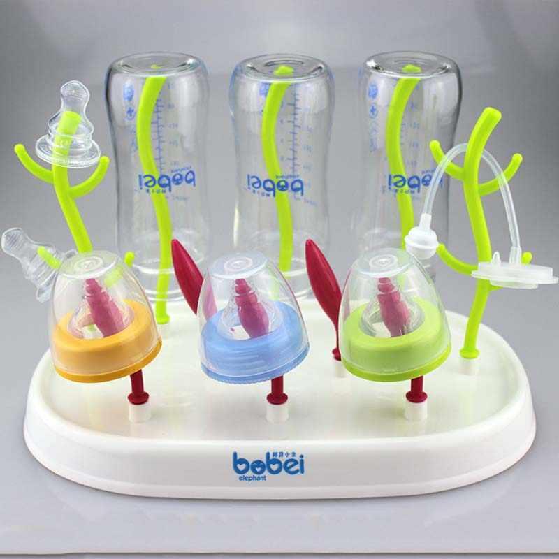 Bebek Bebek Besleme Fincan Standı Şişe Kurutma Rafı Nippler Süzgeç Emzik Sahipleri Askıları Emzikler Kurutma Makinesi Escurridor Biberones