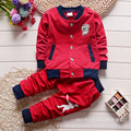 2016 Spring and Autumn baby boy girl long-sleeved clothing top + pants 2 pcs. fashion suit baby clothing set Baby Clothing
