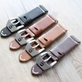 Retro Leather Watchbands Version, Classic Men 24MM / 26MM Watchbands,For Panerai Strap Fast Delivery