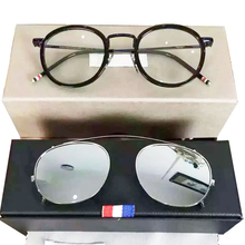 ab36129047e New york brand thom Eyeglasses frames or sunglasses men and women optiacl eye  glasses TB710 clip