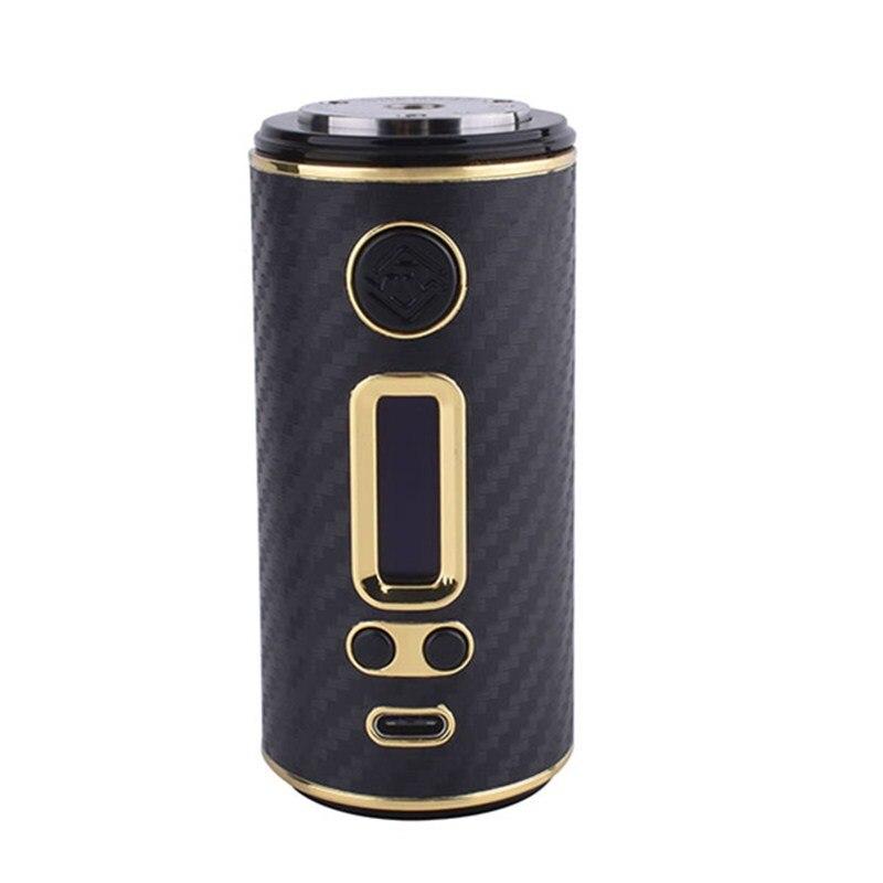 Original ShenRay GEO 75 W boîte Mod Cigarette électronique GEO75 Vape Mods avec TCR VW TC fit 18650 26650 batterie 510 fil RTA réservoir