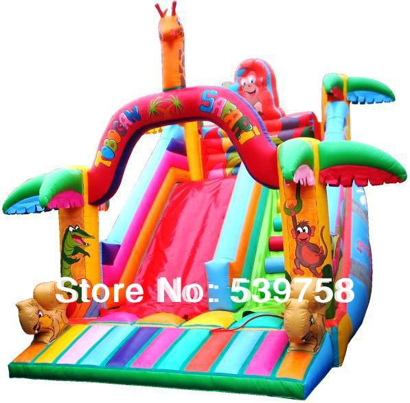 Factory direct inflatable fun city, inflatable slides, inflatable trampoline factory direct inflatable castle slide small household slides inflatable slides cn 046