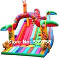 Factory direct inflatable fun city, inflatable slides, inflatable trampoline