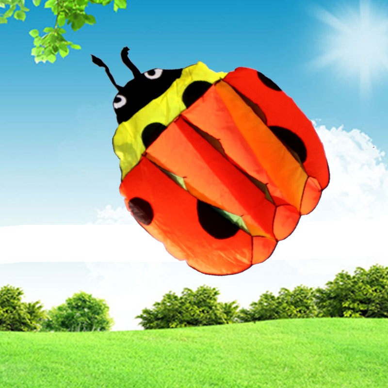 140Cm-Ladybug-Single-Line-Stunt-Software-Power-Kite-Inflatable-And-Easy-To-Fly-TD0082 (1)