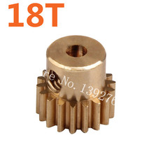 11120 Motor Gear 18T Metal Brass Pinion Copper HSP Parts For 1 10 Electric Off Road