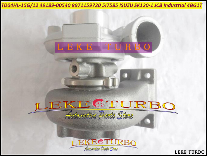 TD04HL 49189-00540 8971159720 5I7585 5I7952 Turbo Turbocharger For ISUZU SK120 SK120-1 JCB Industrial Various Construction 4BG1T (2)